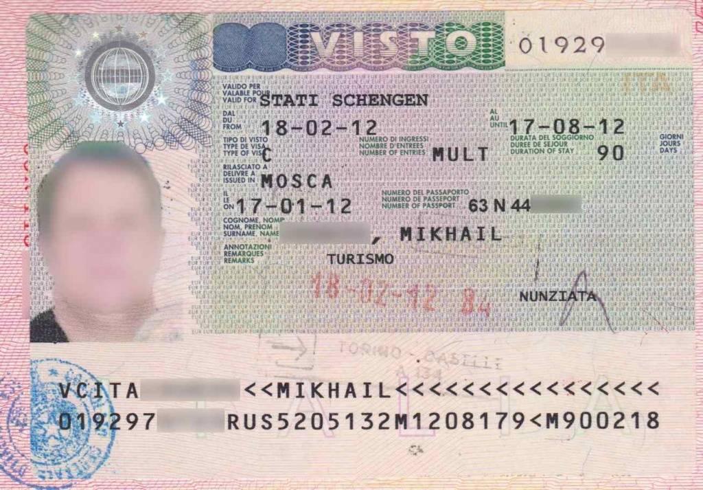 Туристическая виза в италию - разновидности, документы, стоимость