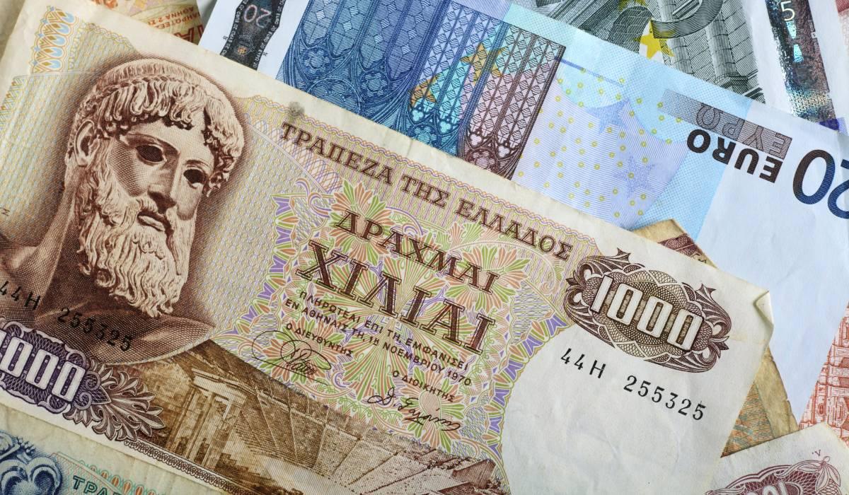 Валюта греции, национальная валюта греции до евро, какую валюту брать в грецию туристам