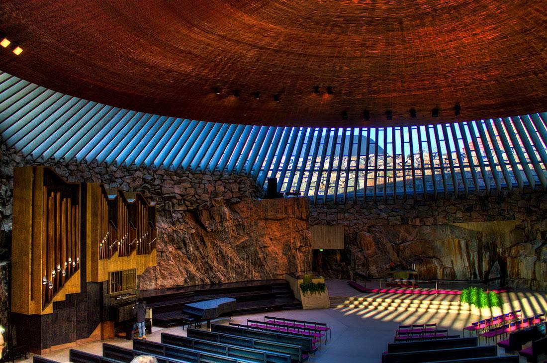 Темппелиаукио: церковь в скале