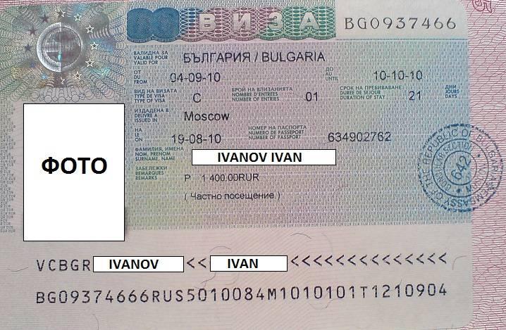 Как оформить визу в болгарию: необходимые документы