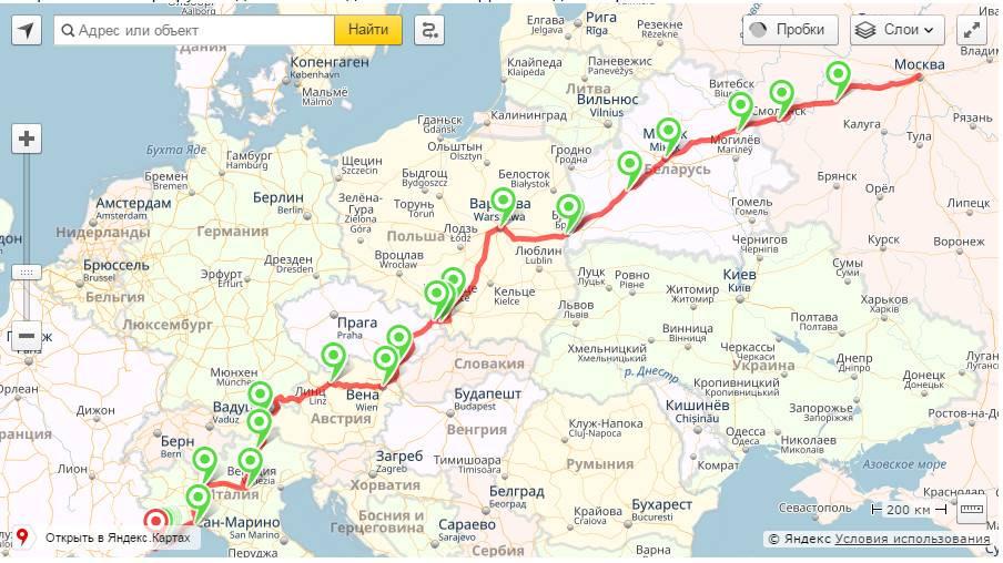 Маршрут путешествия по европе: будапешт, рим, милан, париж, рига