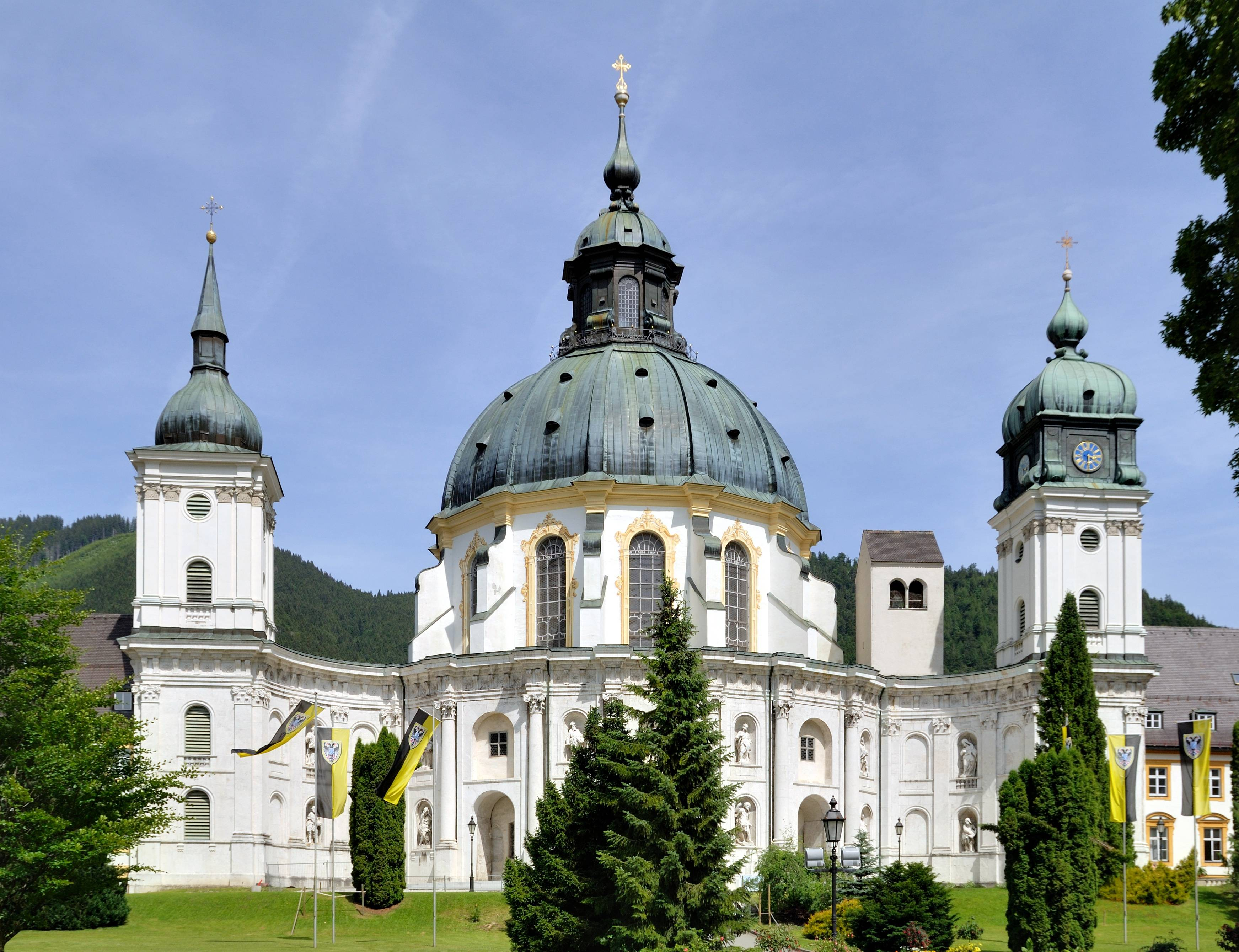 Альпийская деревня в баварии: как выглядит деревня этталь и отель