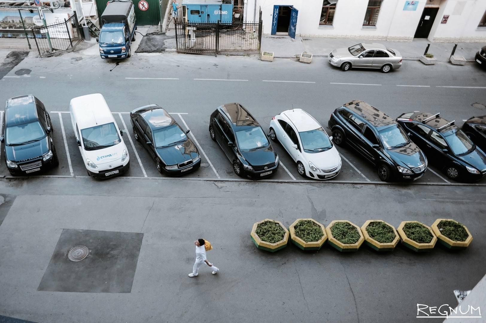 Парковки в разных городах Германии