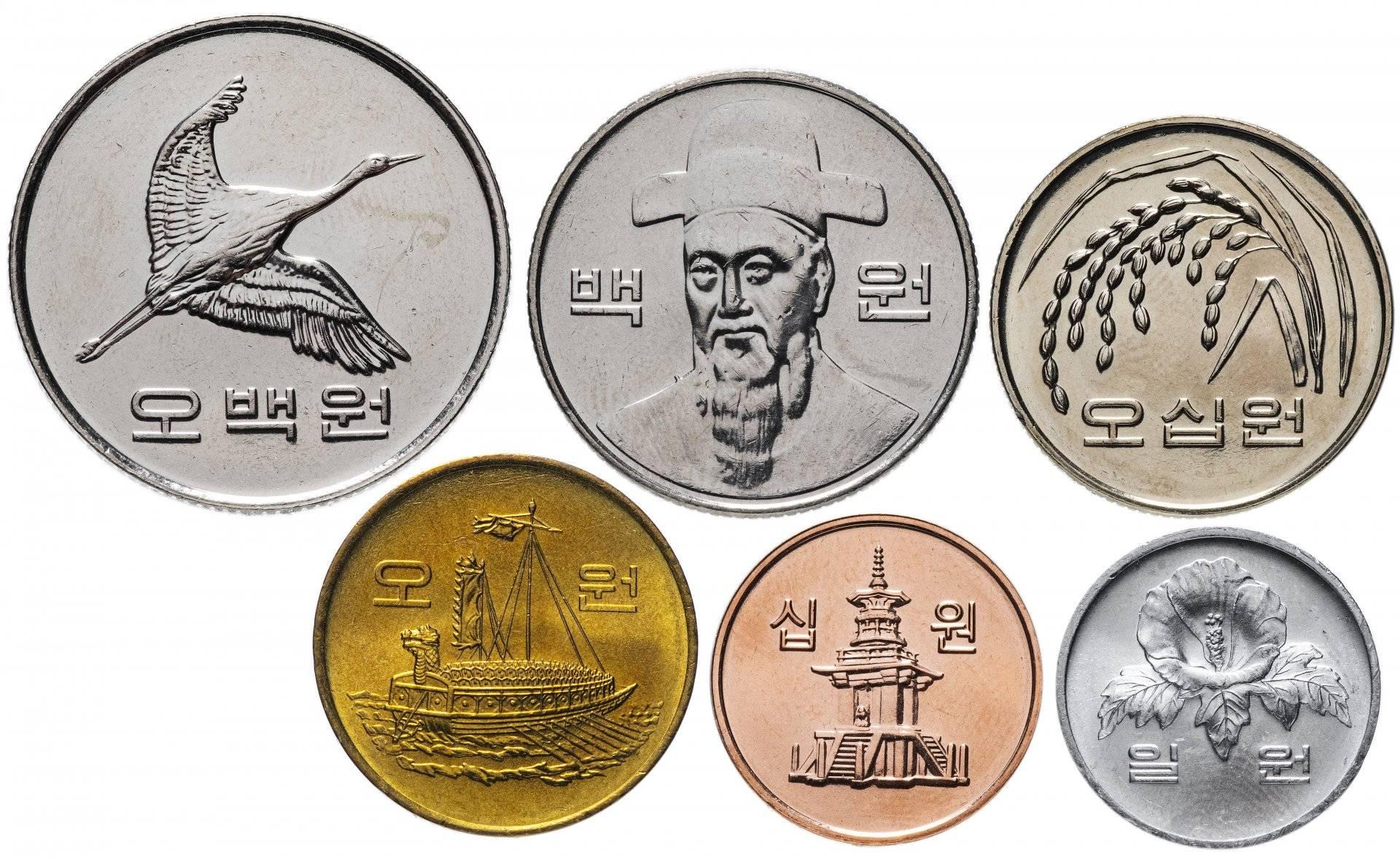 Корейская вона – валюты мира – finversia (финверсия)