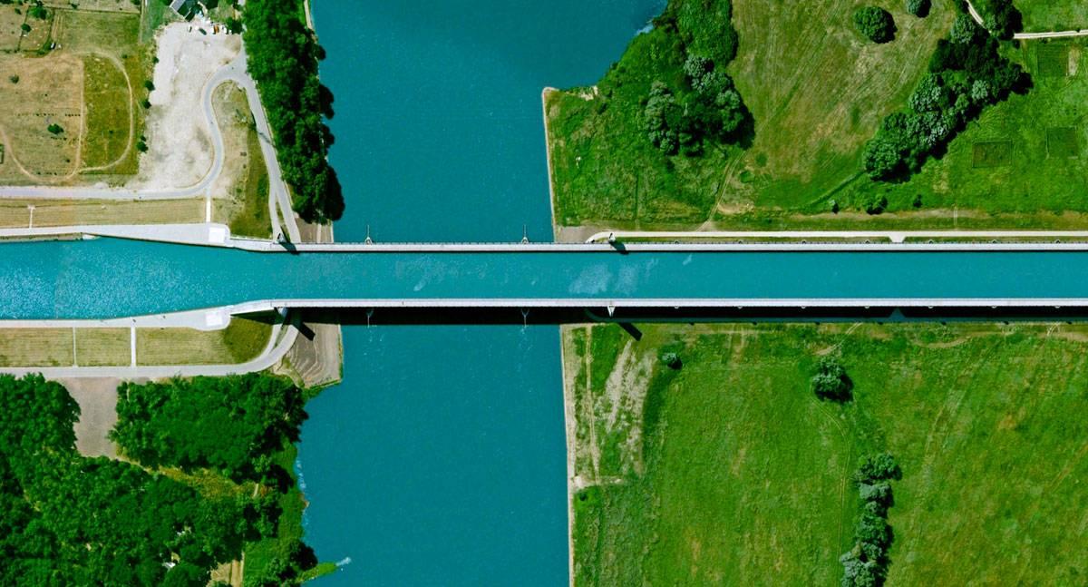 Магдебургский водный мост, его история и аналоги :: syl.ru