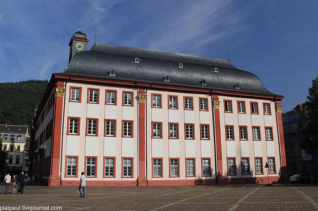 Гейдельбергский университет: история, организация учебного процесса, перспективы для иностранцев