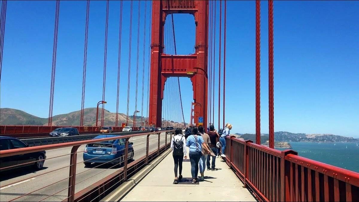 Мост золотые ворота в сан-франциско - красота и трагедия