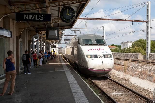 Испанские железные дороги