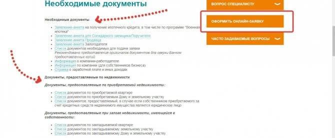 Документы для оформления кредита в банке «открытие»