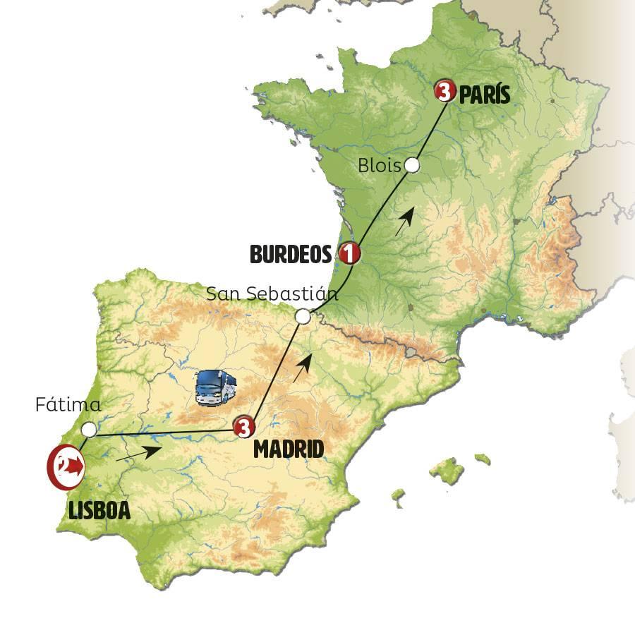 Мадрид - лиссабон: как добраться, на каком транспорте?