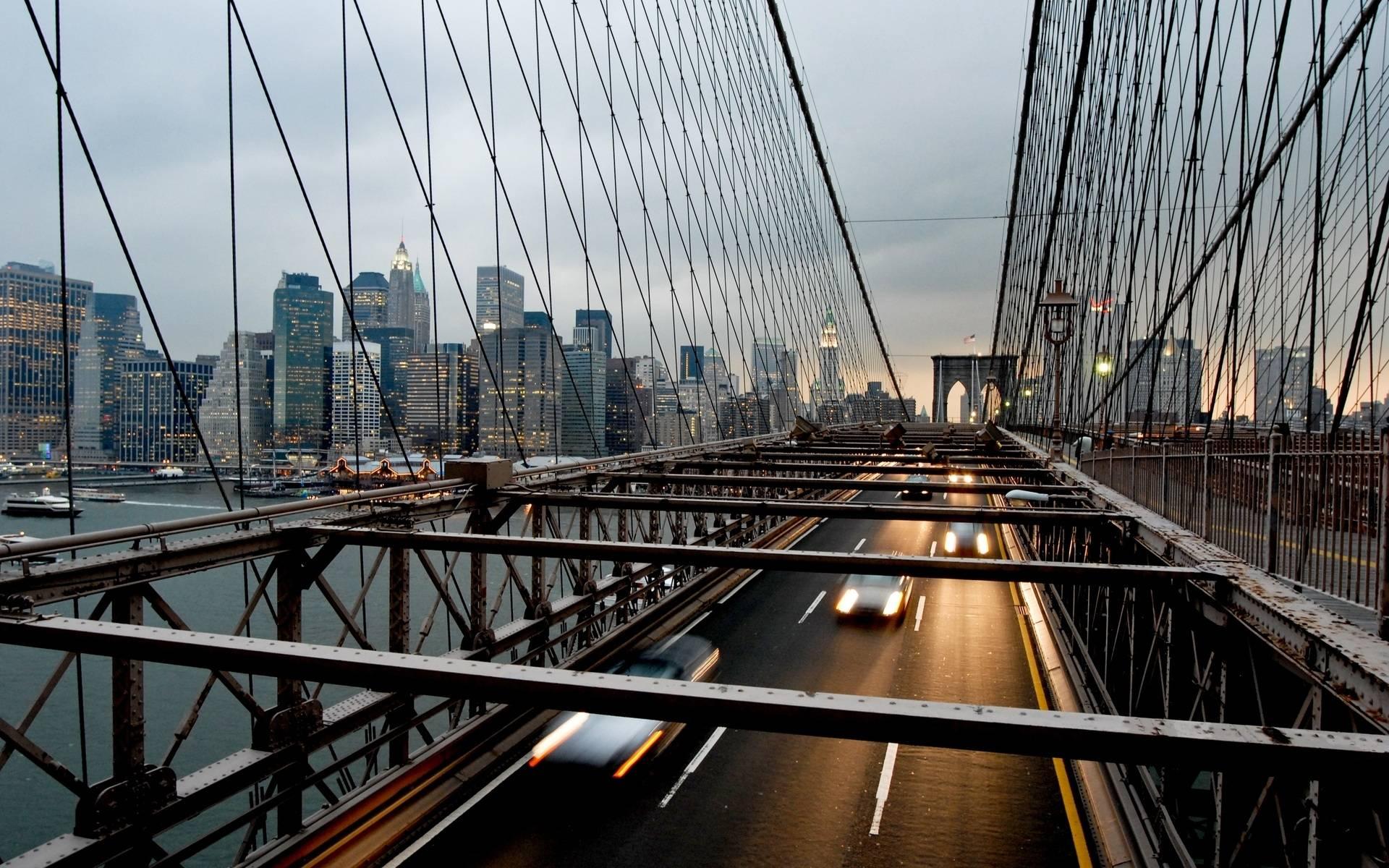 Бруклинский мост (нью-йорк) — история строительства, описание и интересные факты