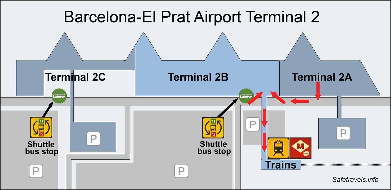 Международный аэропорт барселоны эль-прат (bcn/lebl) - барселона, испания (es)
