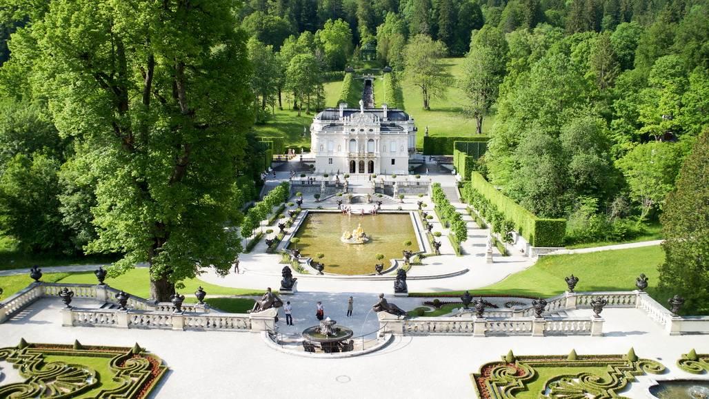 Замок линдерхоф — баварский версаль людвига ii