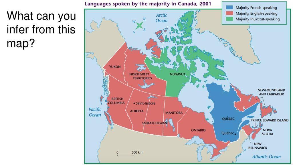 Официальные языки канады: на каком говорят канадцы