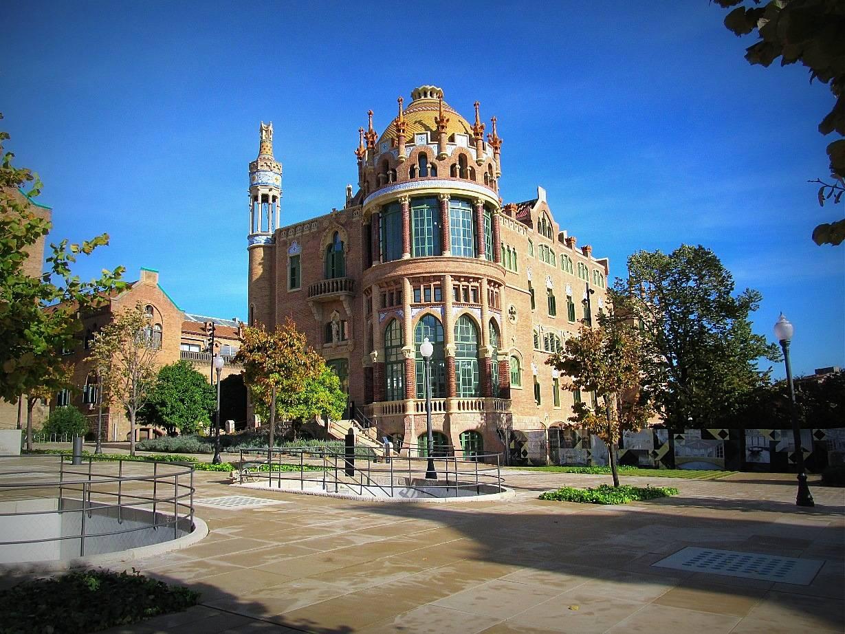 Барселона в стиле модерн: госпиталь санта-креу и сан-пау