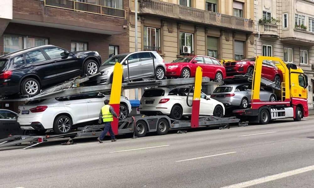 Как перевезти автомобиль из испании