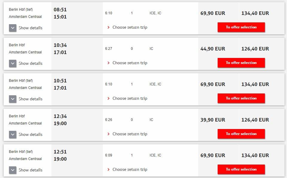 Как дешево добраться до амстердама из москвы, цены на проезд