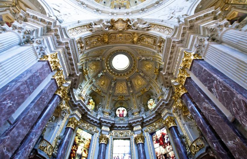 Немецкий собор в берлине (deutscher dom)