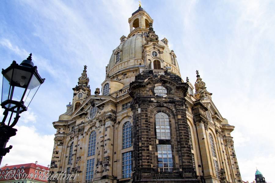 Церковь кройцкирхе в дрездене (kreuzkirche)