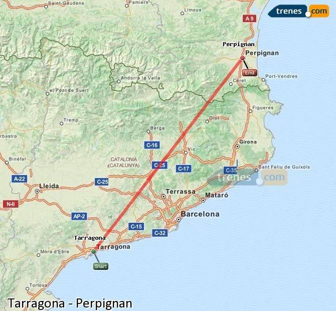 Каким транспортом можно добраться из барселоны в таррагону?