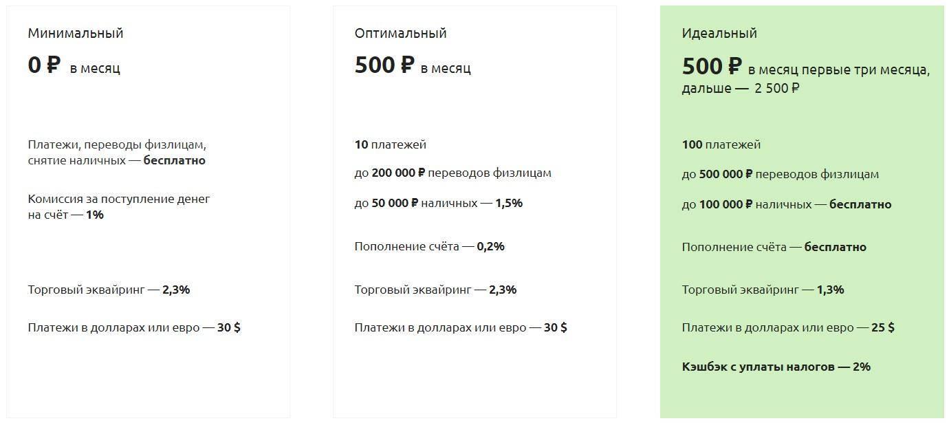 Расчетный счет в банке точка для ип и ооо: тарифы на рко и отзывы