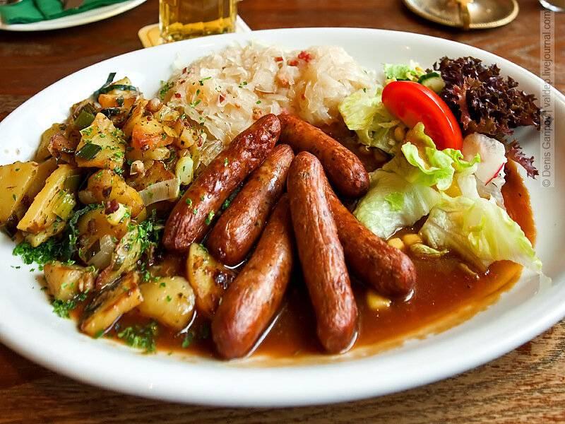 27 видов немецких колбас, которые нужно попробовать