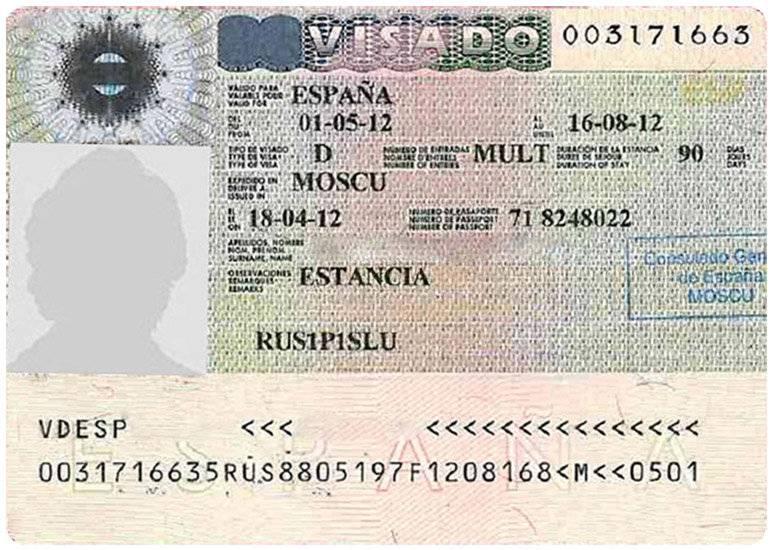Виза в испанию для россиян: как получить самостоятельно (сроки, стоимость, необходимые документы)
