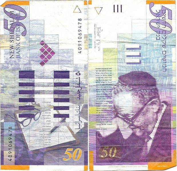 Валюта в израиле