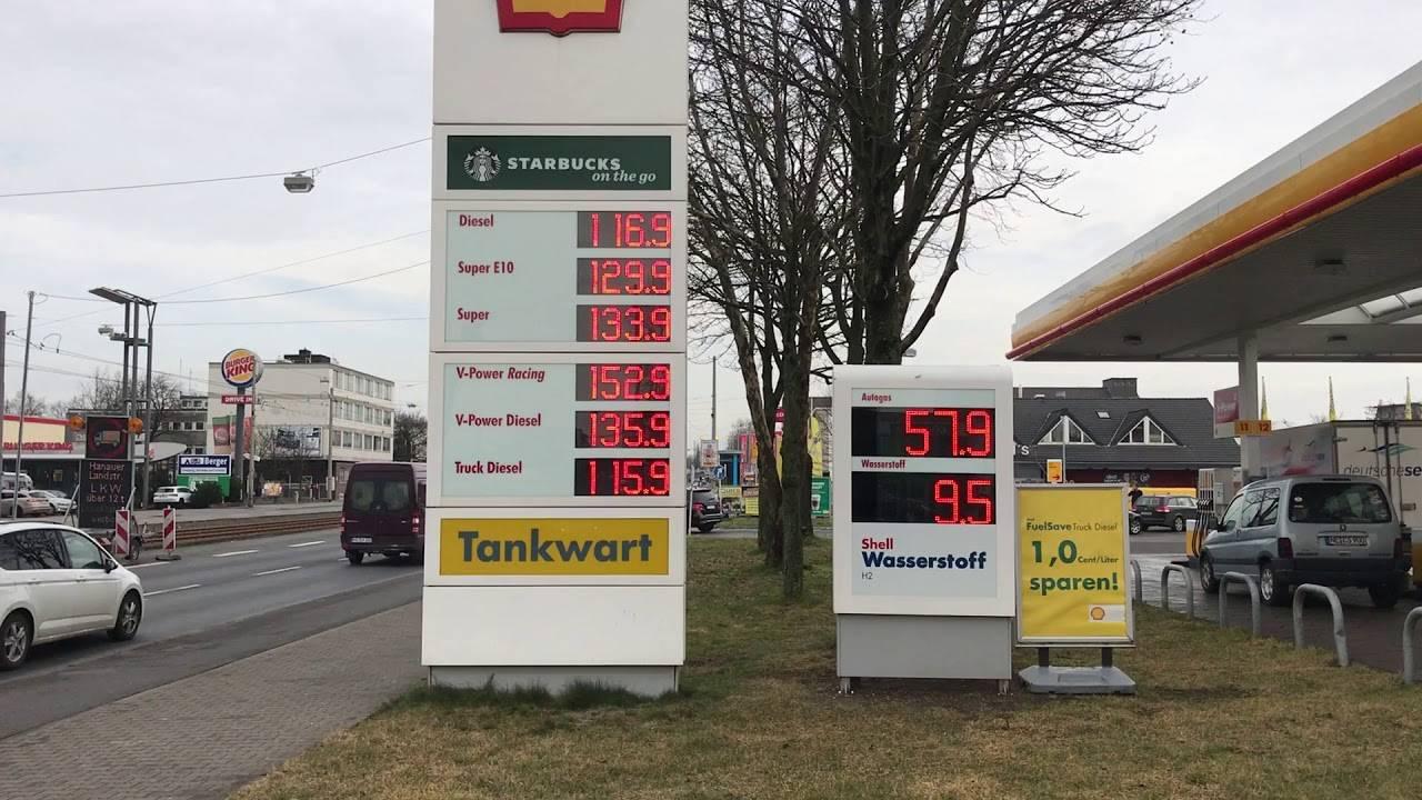 Стоимость бензина в германии 2019