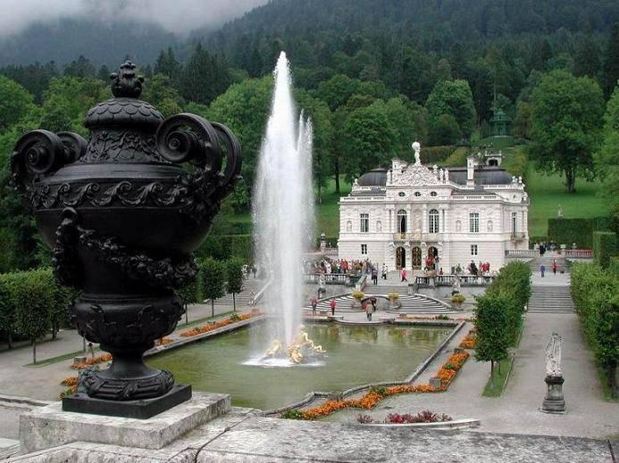 Замок линдерхоф (sсhloss linderhof) - замки германии