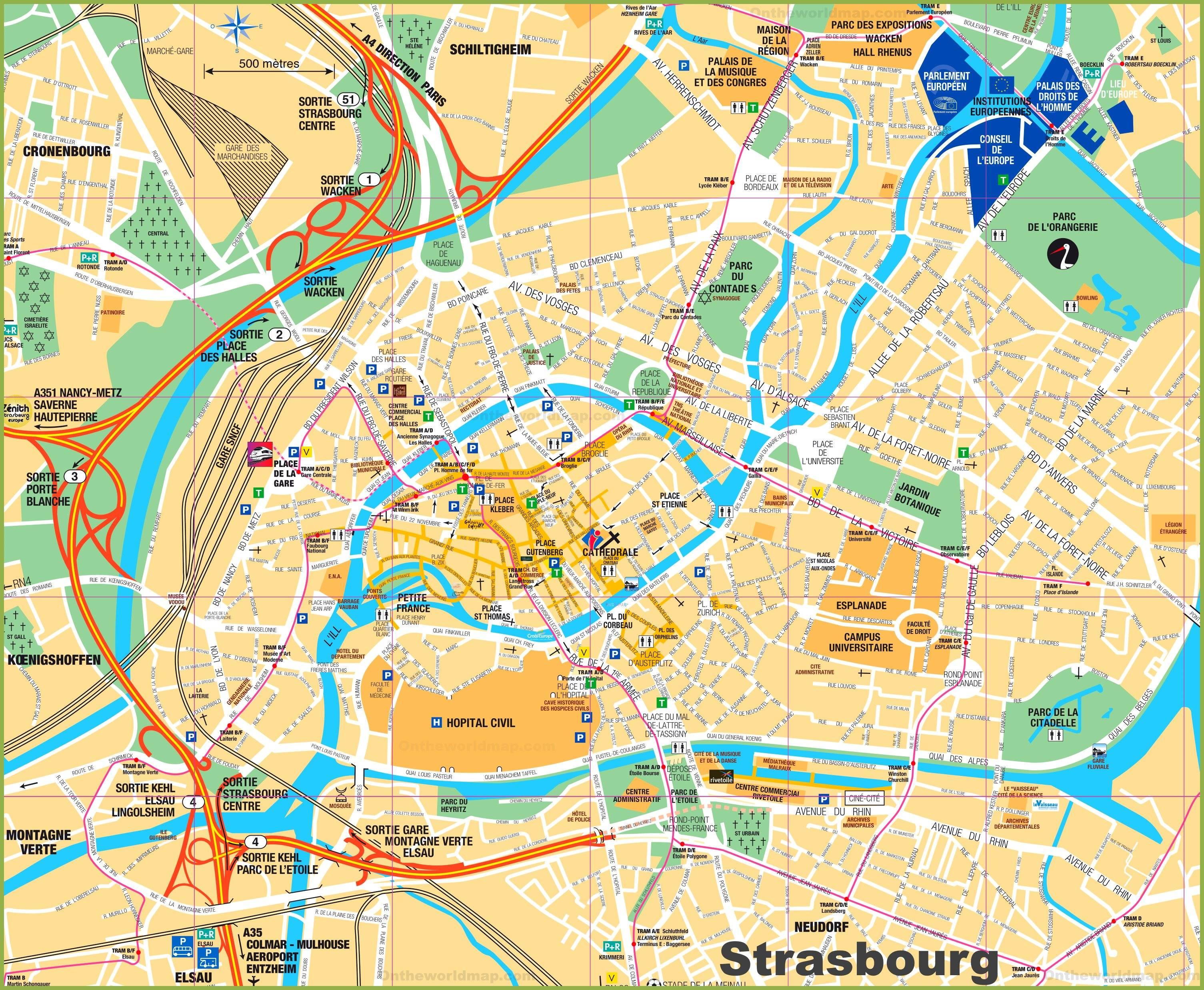 Куда выехать из страсбурга на 1 день ~ trip2trip
