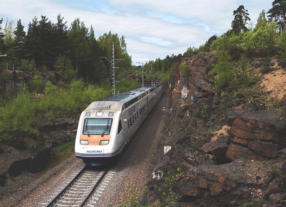 Общие сведения о железнодорожном транспорте финляндии / vr transpoint