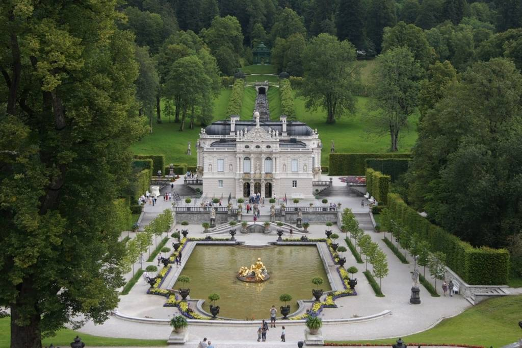 Лучшие замки баварии