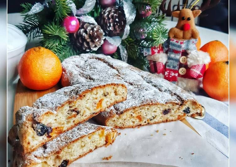 Штоллен (stollen) - традиционная немецкая рождественская выпечка