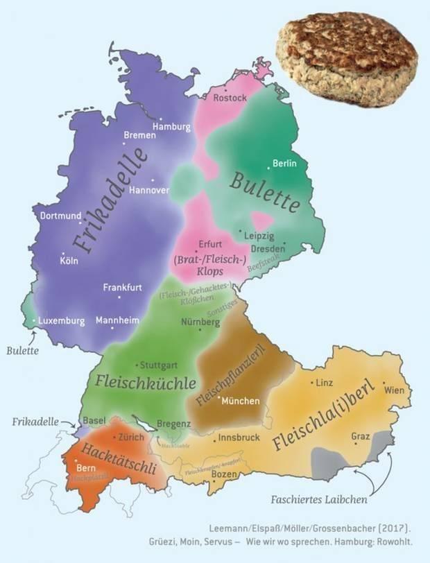 Какой государственный язык германии и какие есть диалекты