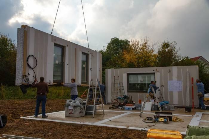 Каркасная конструкция домов в германии, немецкая технология строительства