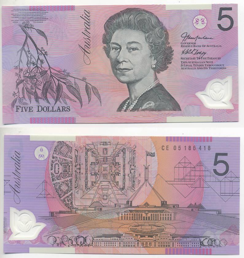 Национальная валюта австралии