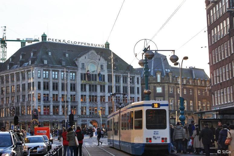 Как добраться из гента в амстердам