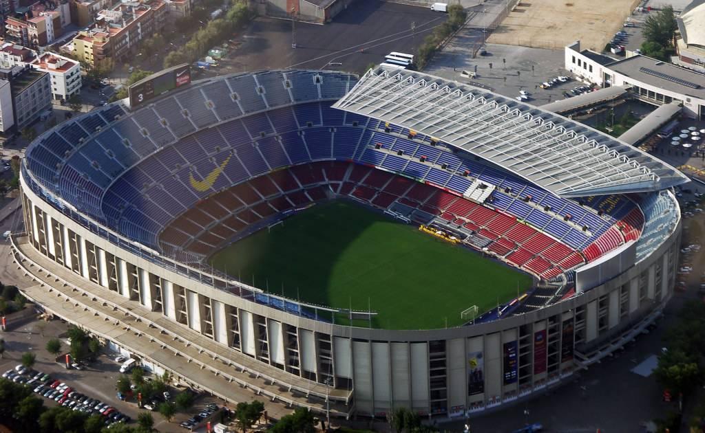 Легендарный камп ноу — самый большой стадион в европе и испании