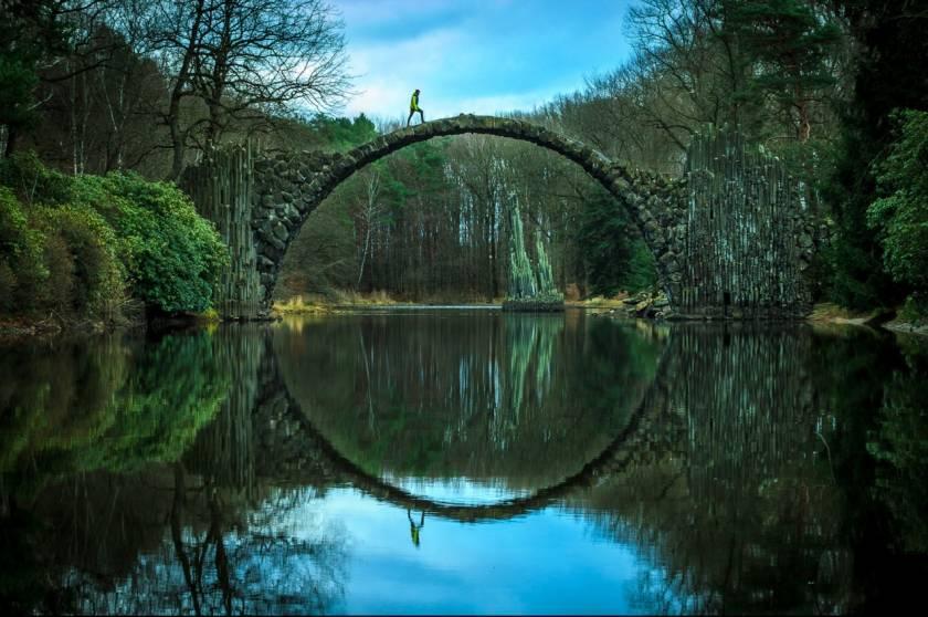 Дьявольский мост или мост ракотцбрюке в германии