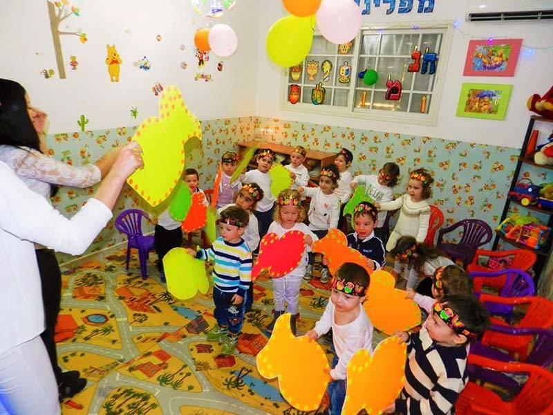 Особенности организации детских садиков в израиле