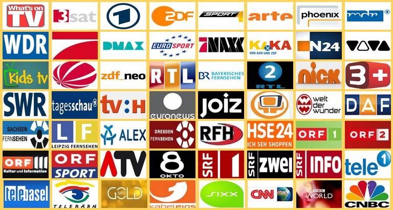 Немецкое телевидение — основные каналы
