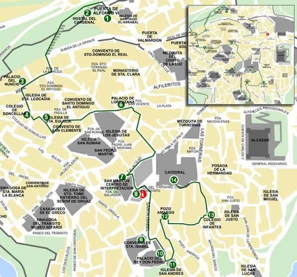 Как добраться из мадрида в толедо: расстояние между городами
