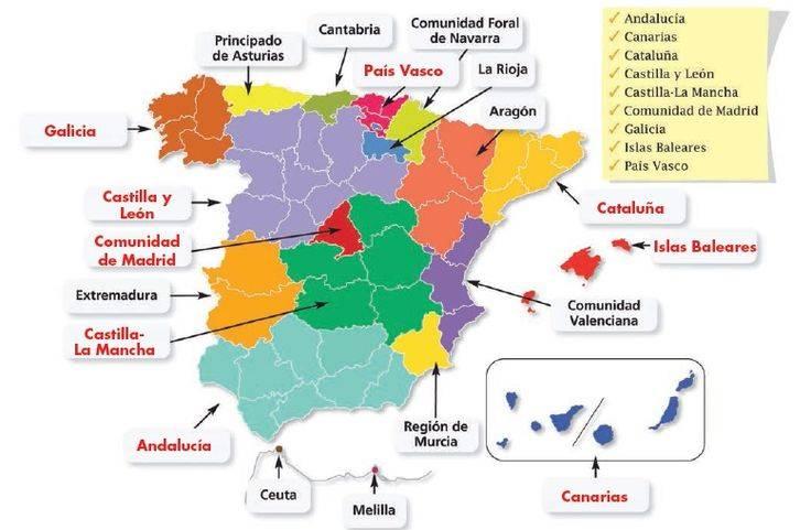 Языки испании — википедия. что такое языки испании