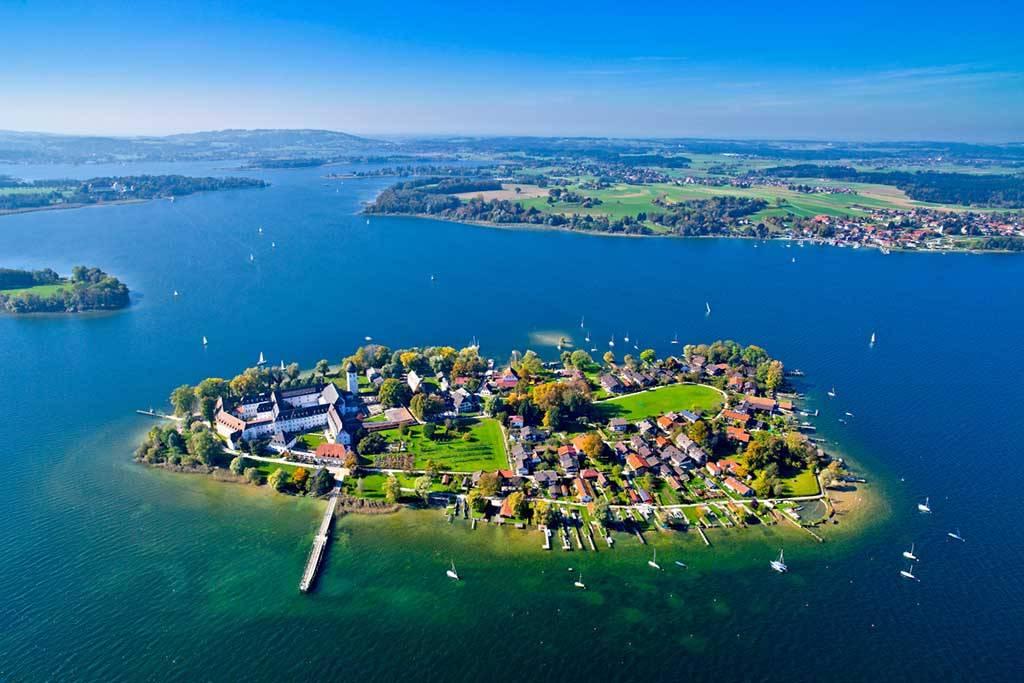 Озеро кимзее в германии: как добраться, где остановиться, что посмотреть