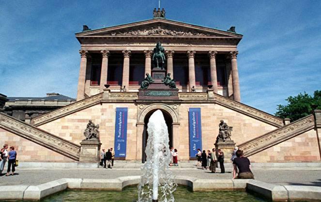 Национальная галерея в берлине- собрание живописи и скульптур