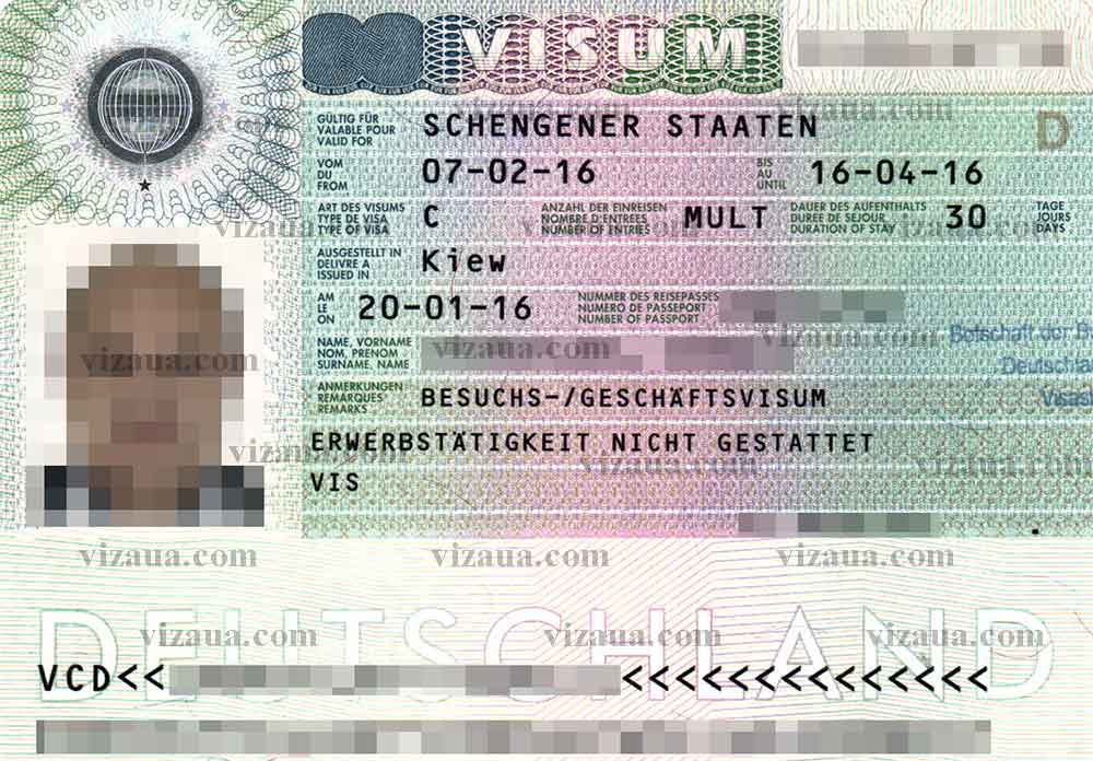 Виза в германию: документы и разновидности разрешений на въезд