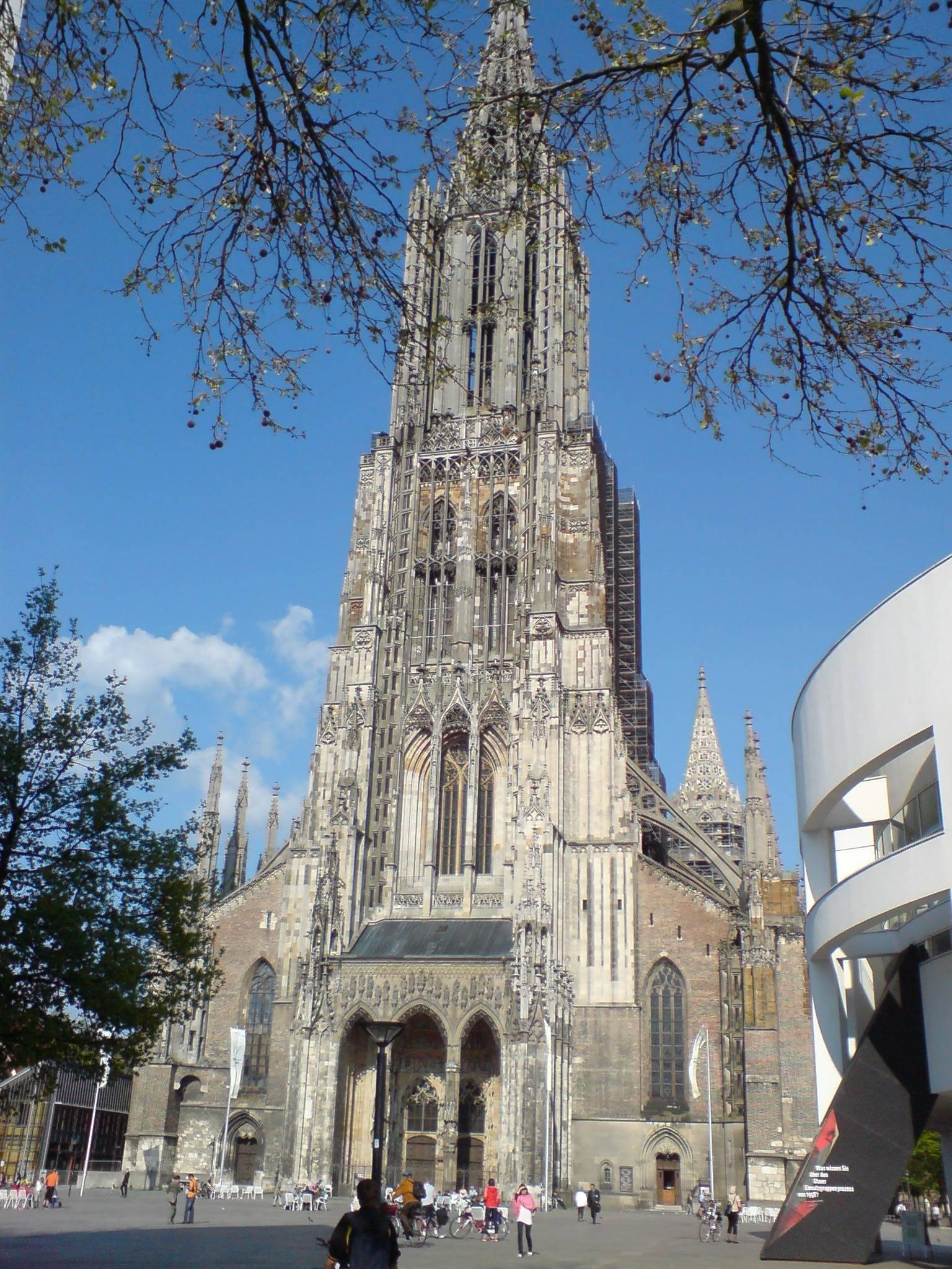 Ульмский собор (ulmer münster) - munchenguide