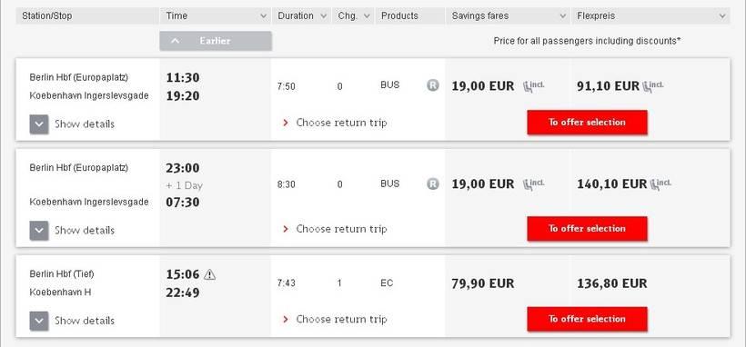 Как добраться из копенгагена в берлин: поезд, автобус, машина. расстояние, расписание 2021, цены на билеты — туристер.ру