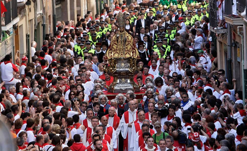 Сан-фермин: самый безумный праздник северной испании